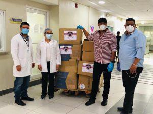 Coalición de Peloteros Dominicanos Dona insumos médicos al Cabral y Báez