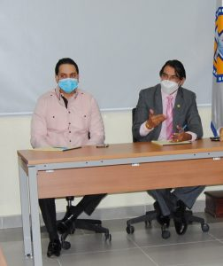 Read more about the article Dr. Bernardo Hilario prosigue reuniones interdepartamentales