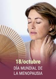 Día Mundial de la Menopausia, 18 de octubre