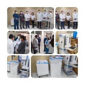 El SNS entregó un moderno equipo para mamografía digital al hospital Cabral y Báez