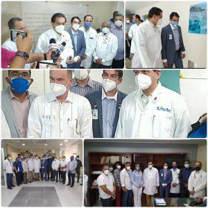 Read more about the article Hospital Cabral y Báez primer centro de salud que visita el ministro Daniel Rivera