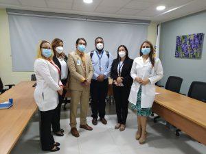 Gerentes de ARS Yunén visitan instalaciones del Cabral y Báez