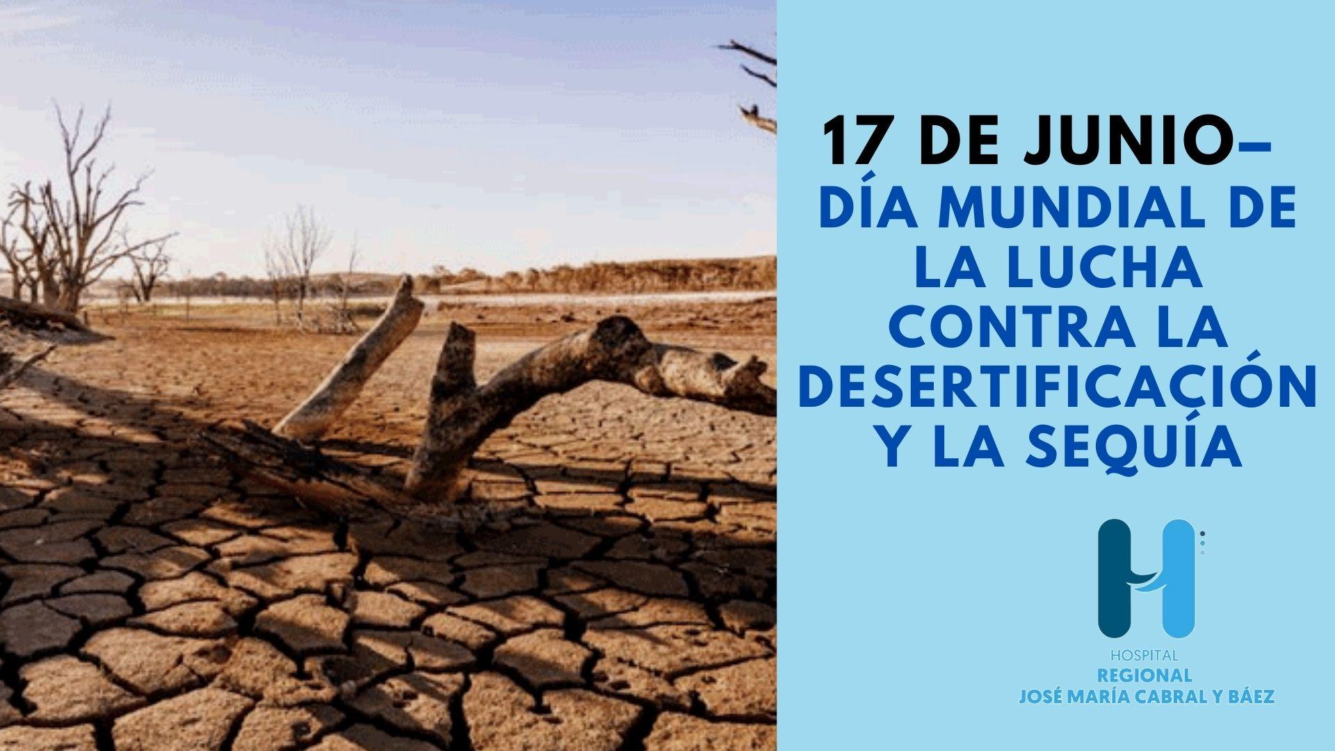 El Día de Lucha contra la Desertificación y la Sequía