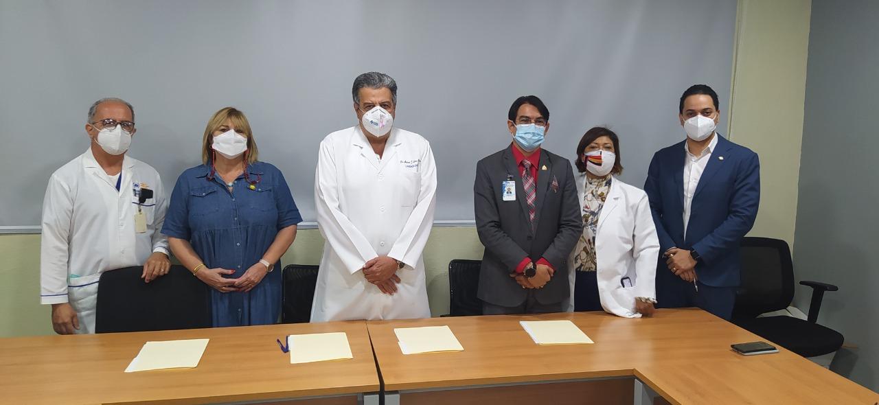 CINBIOCLI  y El Voluntariado Jesús con  Los Niños,  del hospital Arturo Grullón, firman  acuerdo