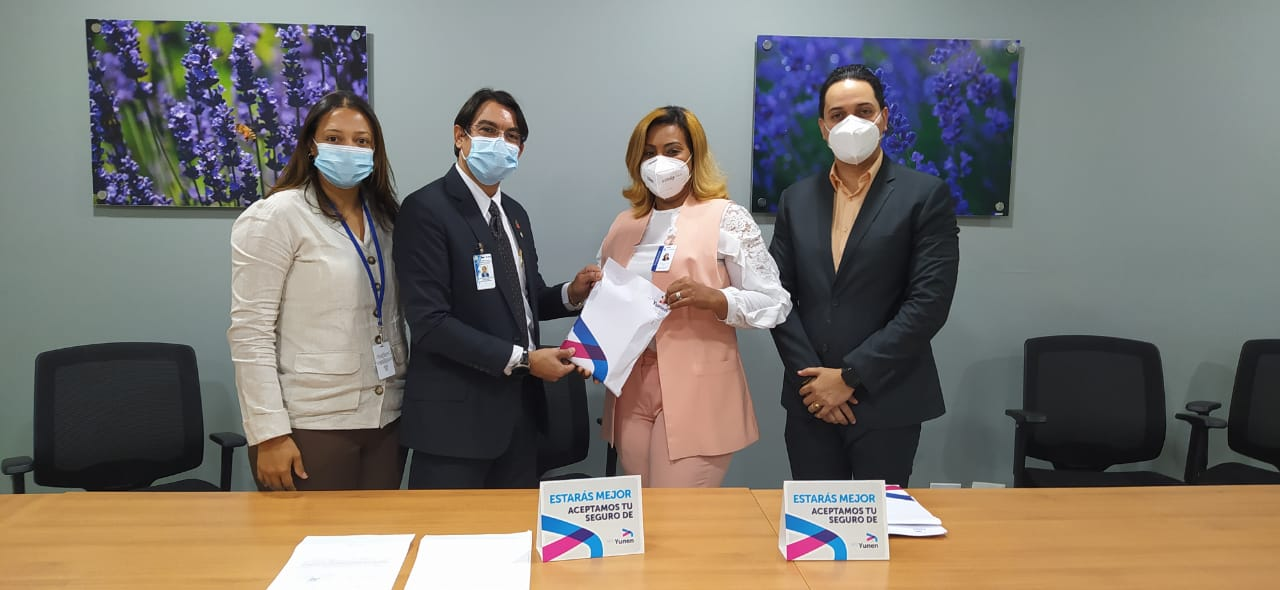 Formalizamos convenio con ARS Yunen