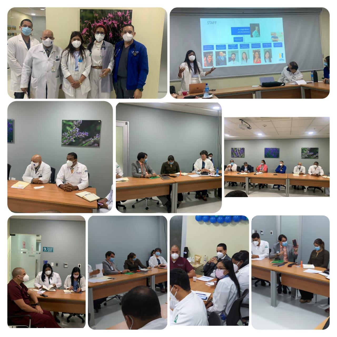 Presentan Plan Estratégico del Dpto. de Neumología y Cirugía Torácica